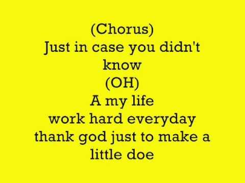 Shawn Storm - My Life (LYRICS) (follow @DancehallLyrics )