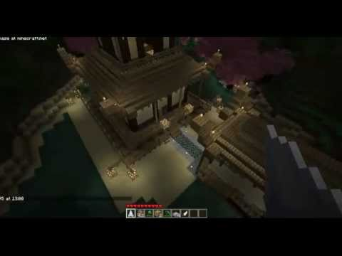 Minecraft Zen Garden minecraft - japanese pagoda with zen garden and bridge - youtube