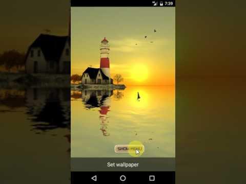 Lighthouse 3D Pro Livewallpaper