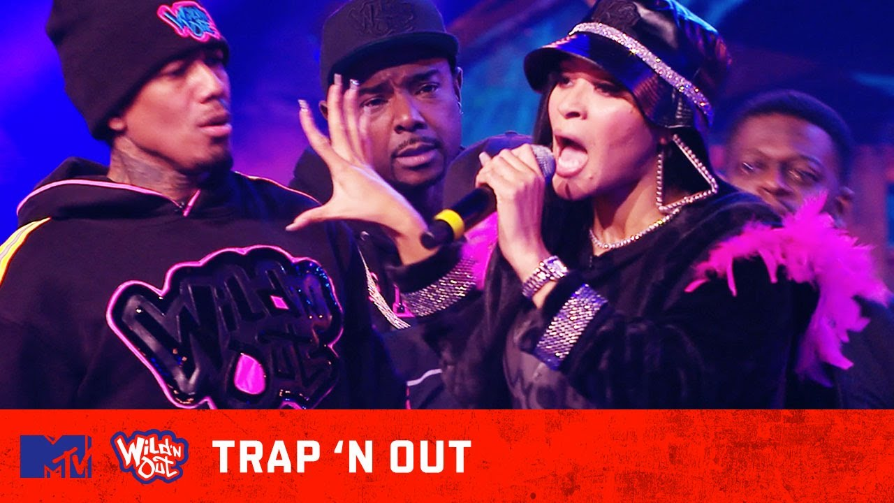 Pretty Vee Goes Back In During Trap 'N Out | Wild 'N Out
