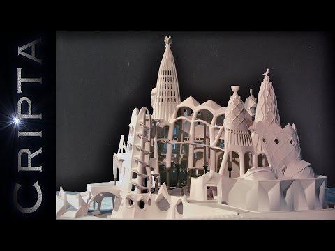 Cripta de la Colonia Guell ☕ HD 1080p60