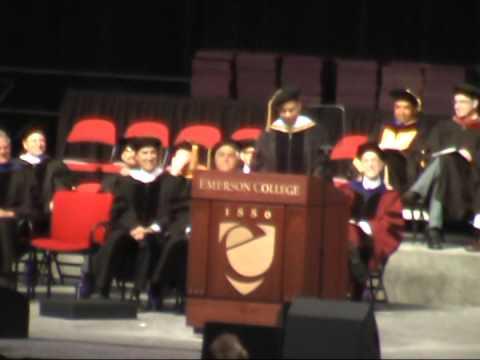 Emerson College Pre-Graduation Address 2014 - Don Lemon