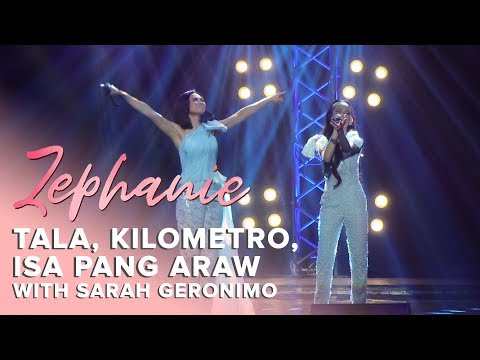 """Tala, Kilometro, Isa Pang Araw (Medley)"" by Zephanie and Sarah G 
