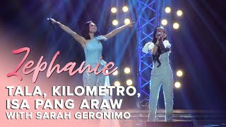 """Tala, Kilometro, Isa Pang Araw (Medley)"" by Zephanie and Sarah G | Zephanie at the New Frontier"