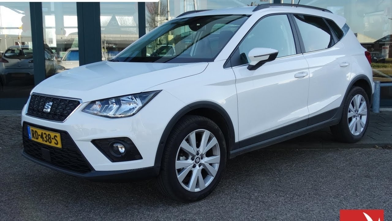 seat arona 1 0 tsi 95pk style launch edition navigatie camera achter youtube. Black Bedroom Furniture Sets. Home Design Ideas