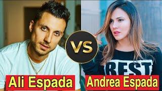 Ali Espada *VS* Andrea Espada   Lifestyle Comparison 2020   Family   Facts   Hobbies