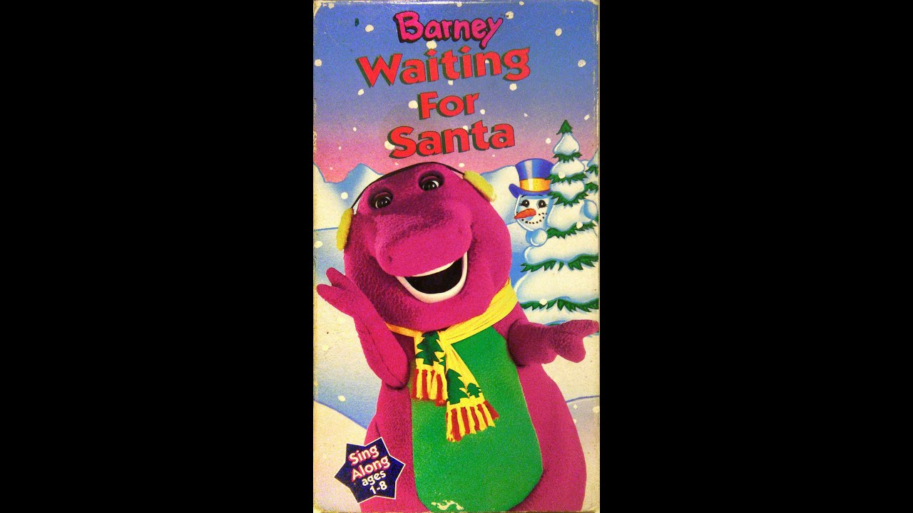 Opening to Barney - Waiting for Santa 1993 VHS - YouTube
