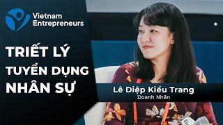 Lê Diệp Kiều Trang và triết lý tuyển dụng nhân sự của GoViet I The Quoc Khanh Show