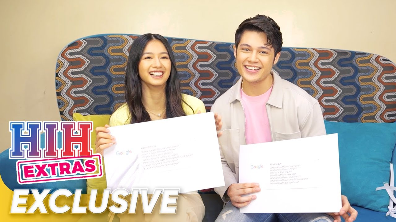 Web's Most Searched   Kaori Oinuma & Rhys Miguel   He's Into Her
