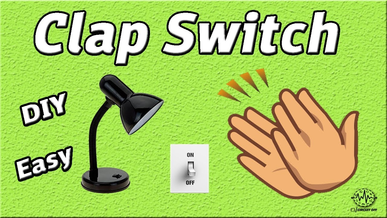 How To Make Clap Switch Diy Project Using 555 Timer Ic Tone Generator 8 Ohm Speaker Homemade Electronics Projects