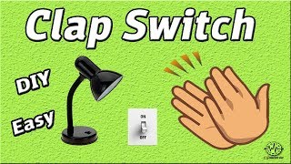 How to Make Clap Switch | DIY Project | Using 555 Timer IC | Homemade | Electronics Projects
