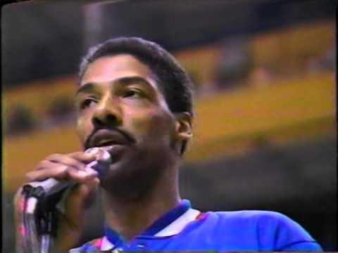Julius Erving Speech In 'The Garden' (Last Game In Boston)