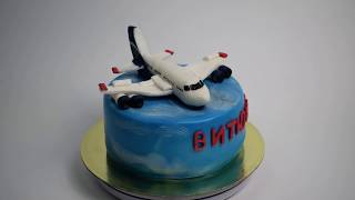 Торт на заказ Самолет (Tortlend.ru)