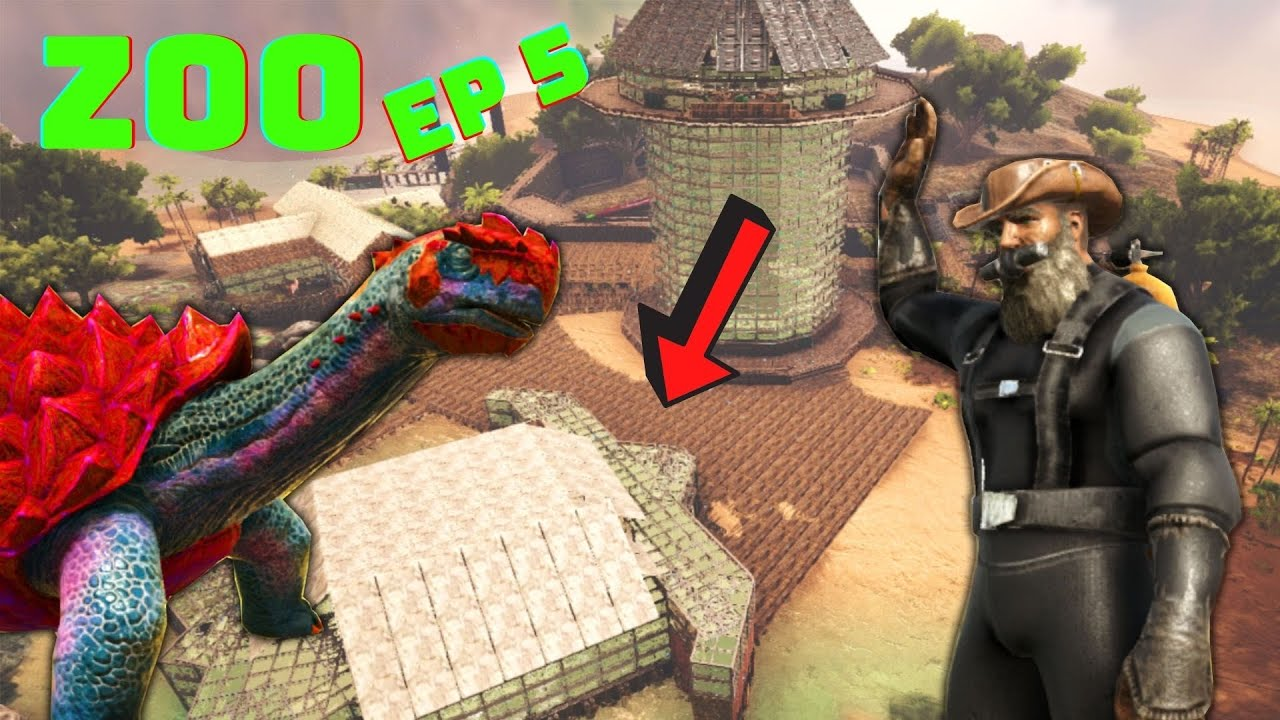 Download Ark Survival Evolved Mutations Zoo! | Ep 5 Console/No Mods! Taming and Building a Turtle!