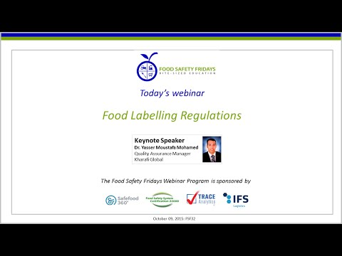 Food Labeling Regulations