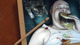 digital painting - iPad Pro