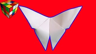 Как сделать Бабочку из бумаги! Оригами бабочка своими руками! Поделки из бумаги! Origami Butterfly(Учимся рукоделию!Как сделать бабочку из бумаги. Бабочка Origami своими руками! Всё поэтапно и доступно каждому...., 2015-11-23T08:21:18.000Z)
