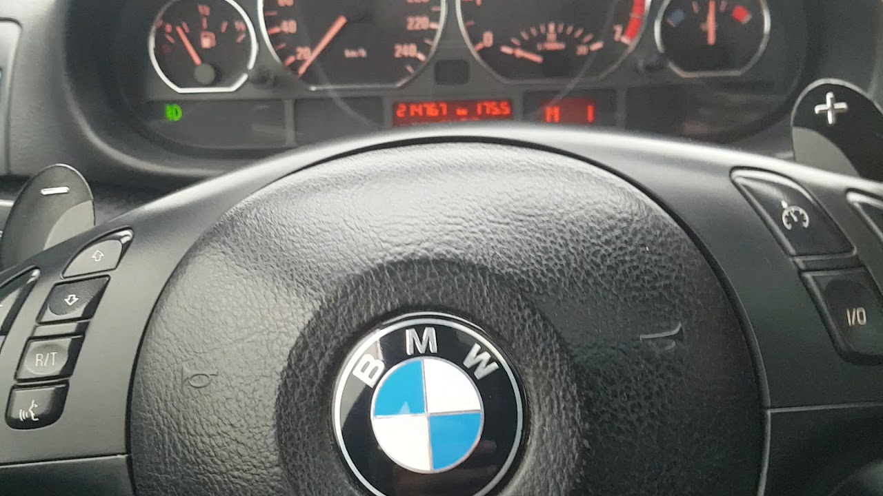 BMW E46 OTOMATİK ŞANZIMAN F1 VİTES KULLANIMI