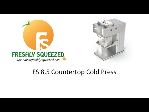 FS 8.5 Countertop Cold Press Juicer