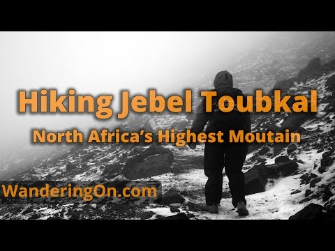HIKING JEBEL TOUBKAL (4,167m), NORTH AFRICA'S HIGHEST MOUNTAIN - Morocco