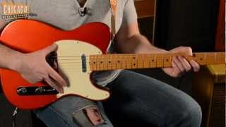 1968 Fender Telecaster Candy Apple Red