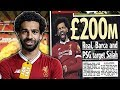 Real Madrid, Barcelona And PSG To BATTLE Over £200M Mohamed Salah?! | Transfer Talk