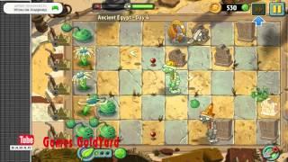 Растения против зомби 2 Египет прохождение 4 уровень Блумеранг - приз суперспособности