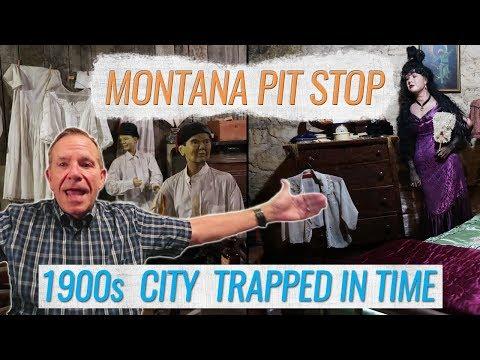 Havre Montana Historical Underground City Tour | RV Lifestyle