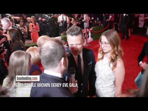 Ingrid Michaelson & Will Chase Interview at  Barnstable Brown Derby Eve Gala 2016