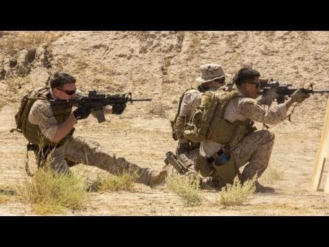 United States Marines Force Recon Firefight With Taliban Forces