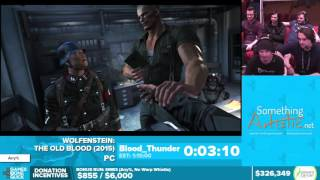 Wolfenstein The Old Blood by Blood_Thunder in 1:06:53 - Awesome Games Done Quick 2016 - Part 58