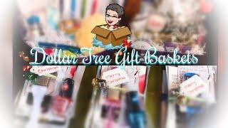 Dollar Tree Christmas Gift Baskets | Gift Set | December 2018 🎄
