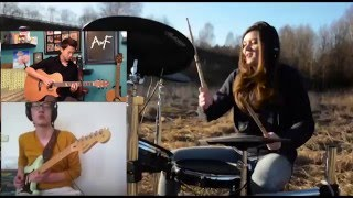 Alan Walker - Faded (Violin-RobertMendoza,Drums-TheKays,Electric Guitar-Jakob B,Guitar-Andrew Foy)