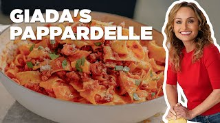 Giada's Pappardelle Pasta with Sausage Ragu   Food Network