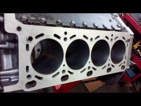 бмв х5 4.4 M62TU Сборка блока двигателя