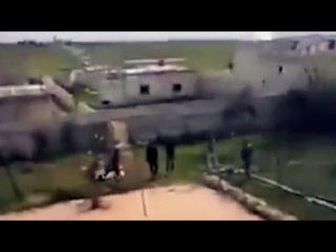 В Сирии упал