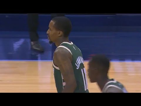 Brandon Jennings Makes NBA Return - 16 PTS, 12 AST, 8 REB in 24 minutes! Bucks vs Grizzlies