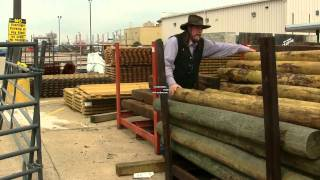 Shopping For Wooden Fence Posts ! Stall13.com Videos