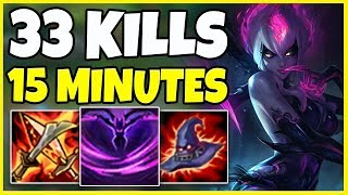 *URF* 2+ KILLS A MINUTE (INSANE URF GAME) - League of Legends