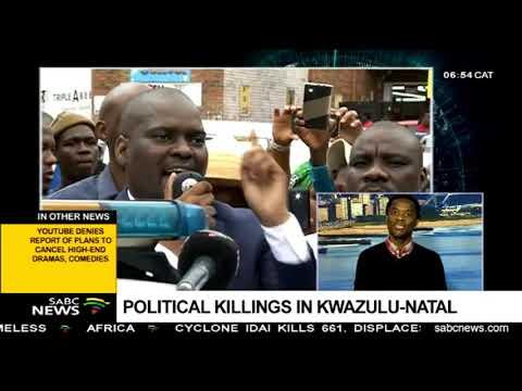 Political killings in KwaZulu-Natal