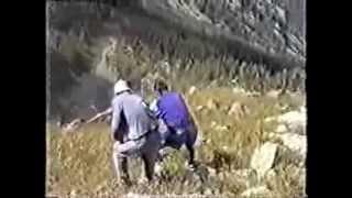 1997 Поход 2 с друзьями на Горные озера Лениногорска или Географы глобус изучают.