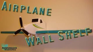 How To Make A Airplane Wall Shelf