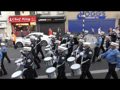 Donaghadee Flutes And Drums (1) @ Shankill Star 2018