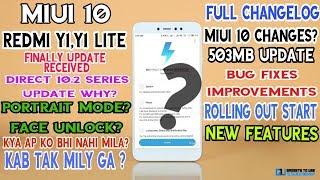 Redmi y1 lite miui 10 2 1 0 stable new update