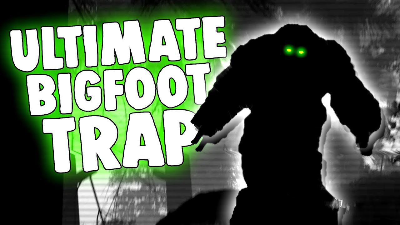 The ULTIMATE BIGFOOT TRAP! - BIGFOOT Caught on Camera! - Finding Bigfoot Game
