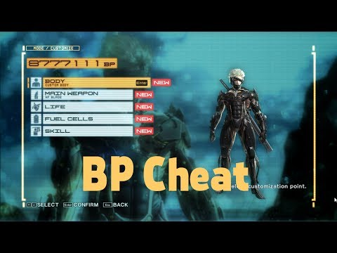 Metal Gear Rising: Revengeance BP CHEAT (PC)