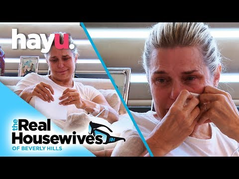 Yolanda Hadid Breaks Down Over Lyme Disease | The Real Housewives Of Beverly Hills