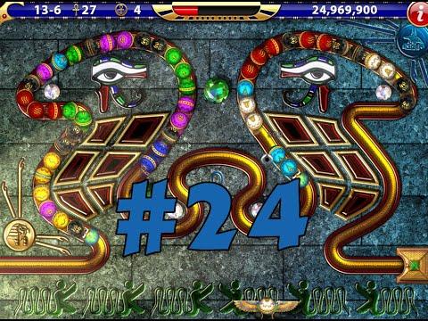 Luxor HD Expert Mode ! Episode #24 : The Midnight Snake |