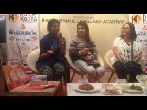 Presenting Costa Rican food culture at the Kolkata International Book Fair 2017
