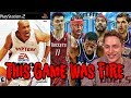 CRAZY THROWBACK GAME! NBA LIVE 04 is FIRE!